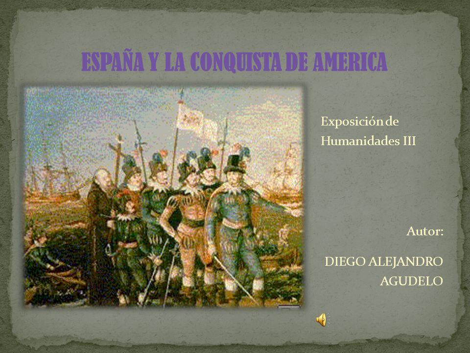 Exposición de Humanidades III Autor: DIEGO ALEJANDRO AGUDELO