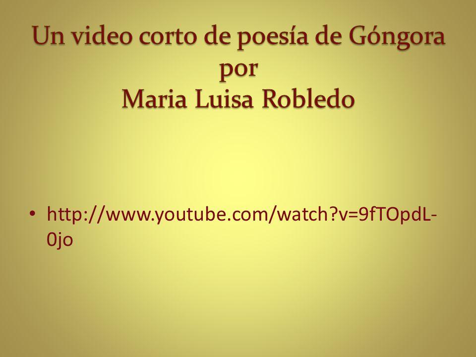 http://www.youtube.com/watch?v=9fTOpdL- 0jo