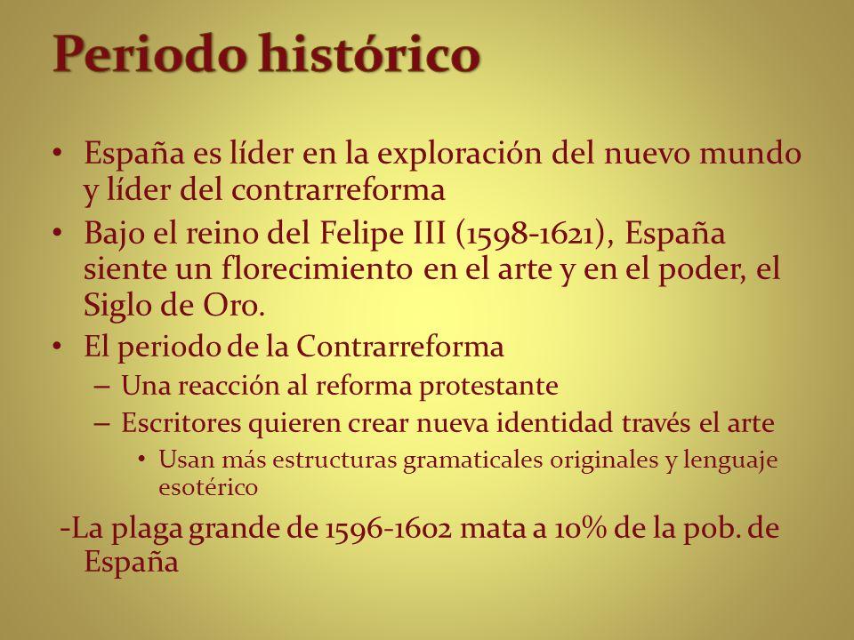 Nació en Córdoba (1561-1627) Ocupación: sacerdote de nivel alta Por ser descontento con su carrera religiosa, se metió más en el poesía.