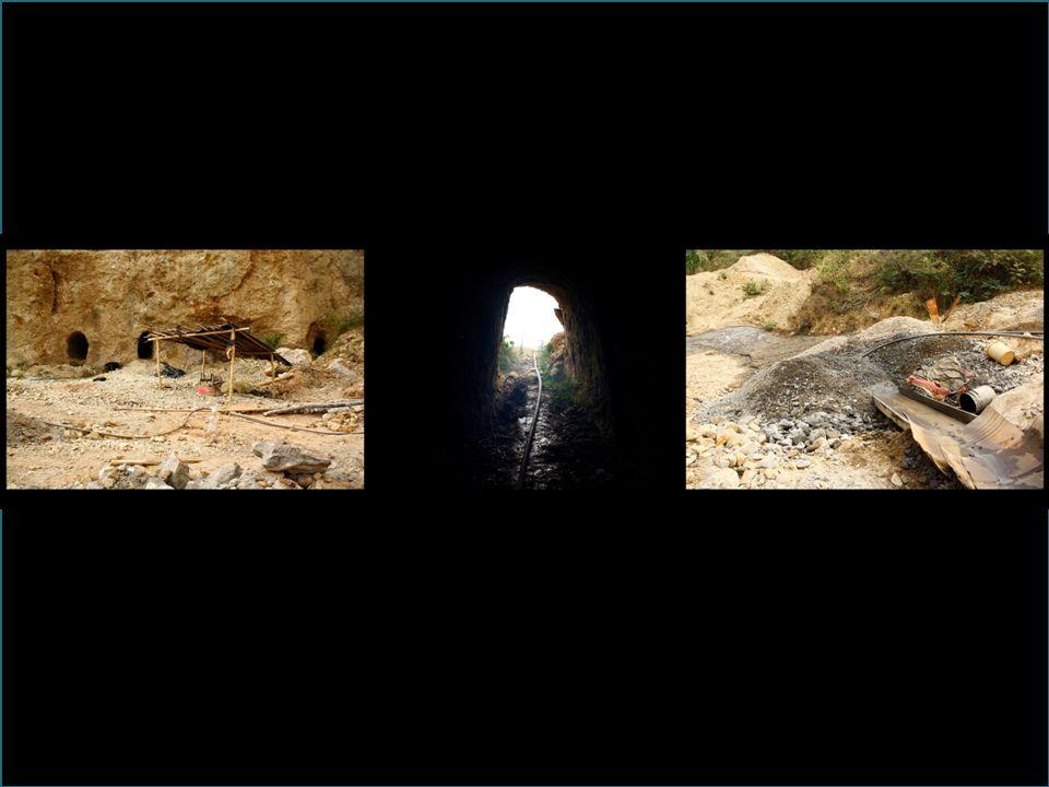 Proyectos mineros de gran envergadura 1984 : Japan International Cooperation Agency (JICA) 2005: Kedhala S.A 2006-2011: Carboandes