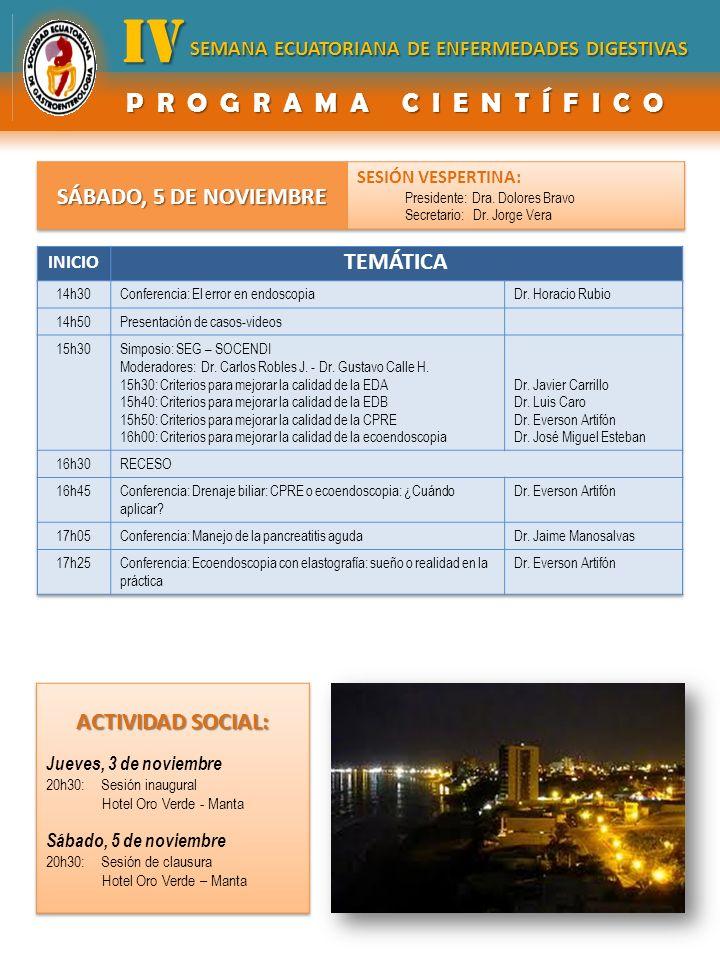 INFORMACIÓN HOTELERA Fax - Telefax Valor Habitación (día) SimpleDoble Hotel Oro Verde Manta Ubicación: Playa: frente al mar Dirección: Malecón y calle 23 593 5 2629200 $183$195.