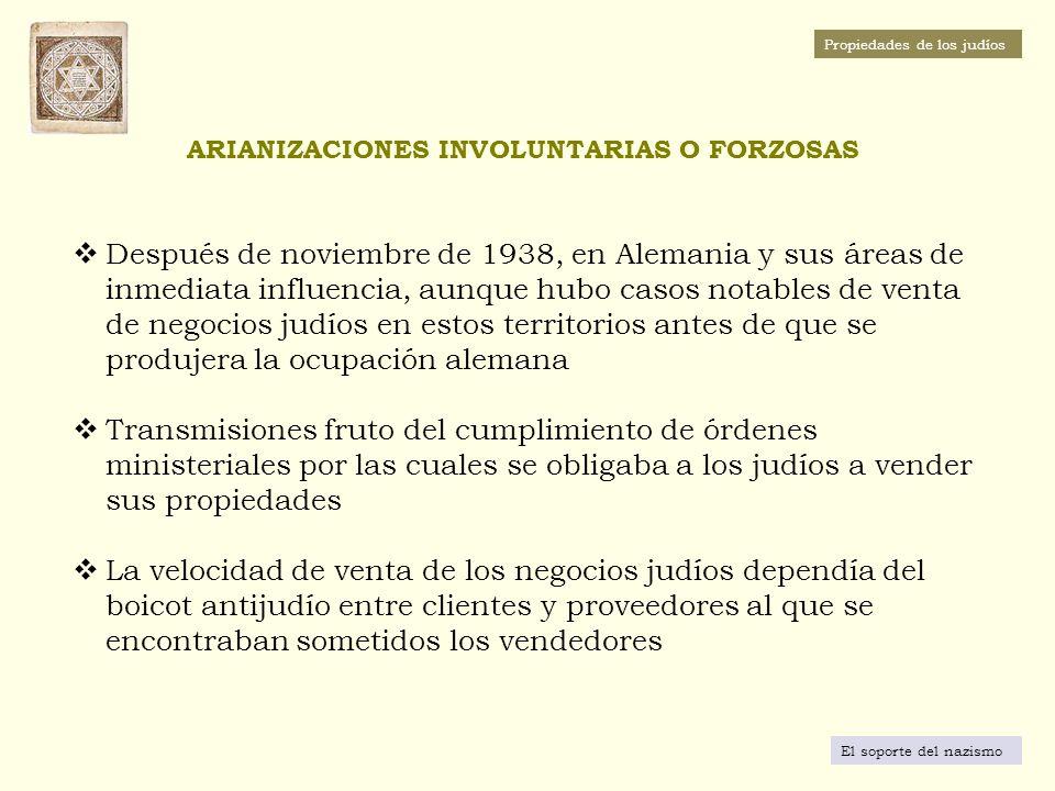 TERRITORIOS INCORPORADOS POR ALEMANIA ENTRE 1938 Y 1939 El soporte del nazismo