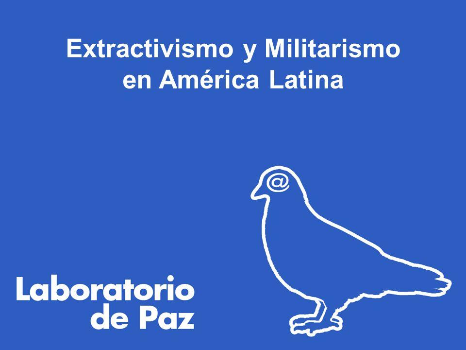 Extractivismo y Militarismo en América Latina