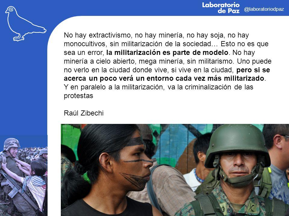 @laboratoriodpaz No hay extractivismo, no hay minería, no hay soja, no hay monocultivos, sin militarización de la sociedad… Esto no es que sea un erro