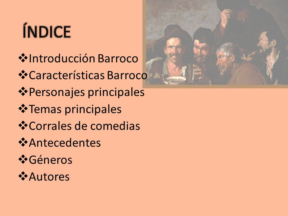 El Barroco es el periodo comprendido entre el siglo XVII y la mitad del siglo XVIII.
