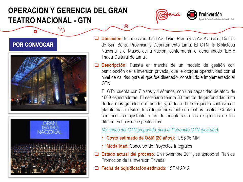 Ubicación: Intersección de la Av. Javier Prado y la Av. Aviación, Distrito de San Borja, Provincia y Departamento Lima. El GTN, la Biblioteca Nacional
