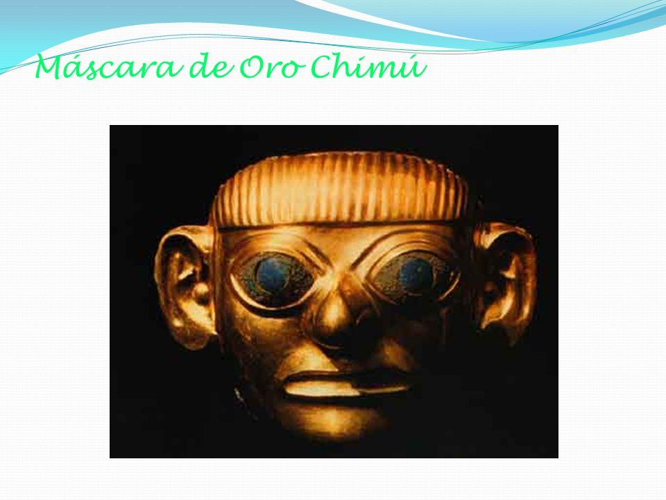 Máscara de Oro Chimú