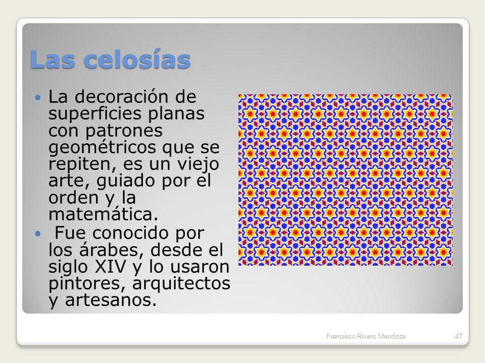 Teselados no periódicos: Diagramas de Penrose 46Francisco Rivero Mendoza