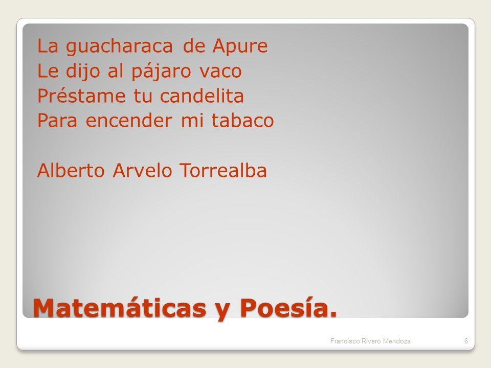 Matemáticas – Arte: Objetivos comunes ( Formales).