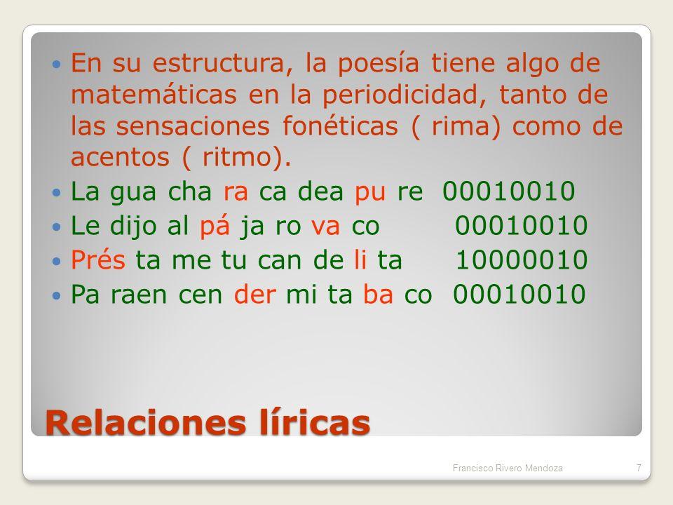 Matemáticas y Poesía.