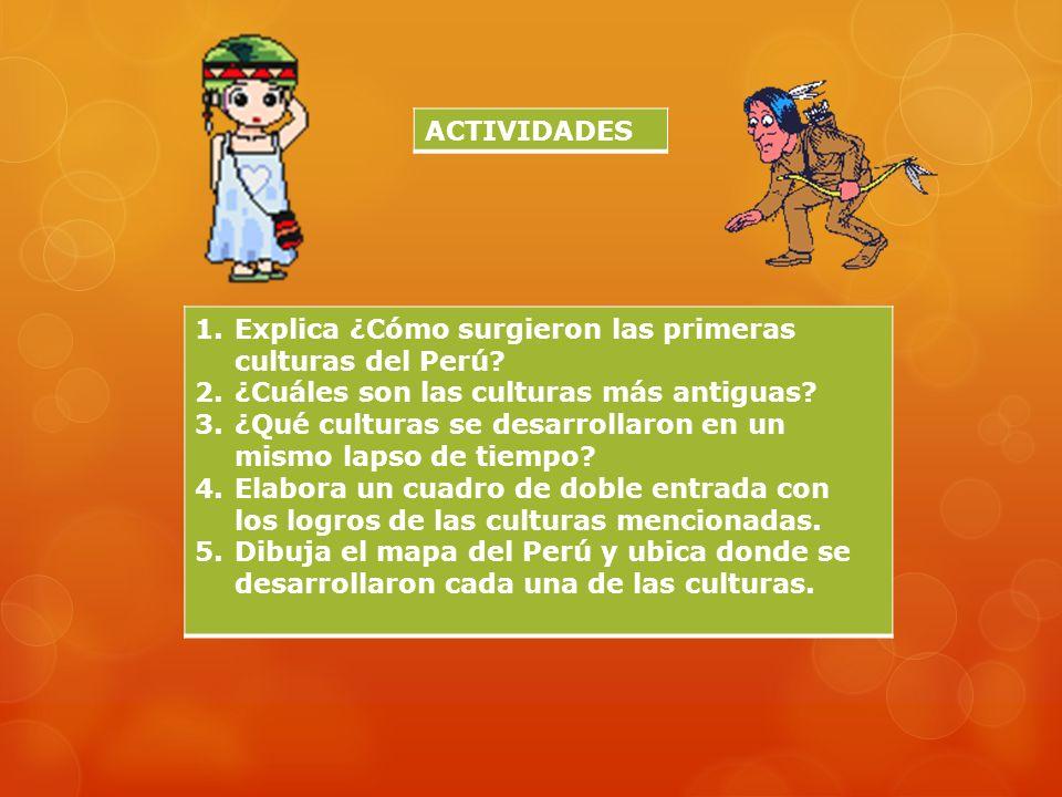 AGRICULTURA: Con tiahuanaco se utiliza el control de pisos ecológicos. Construyeron andenes, waru waru o camellones. Sembraron maíz, yuca, oca, frutas