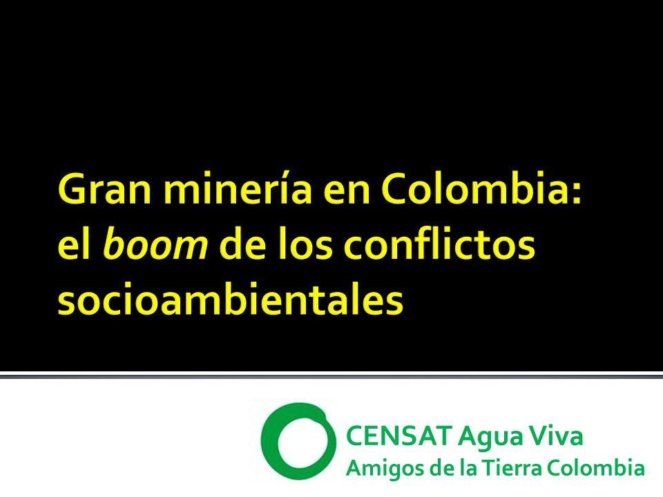 CENSAT Agua Viva Amigos de la Tierra Colombia