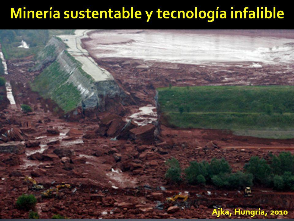 Ajka, Hungría, 2010 Minería sustentable y tecnología infalible