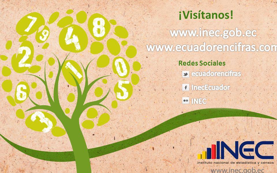 ¡Visítanos! Redes Sociales