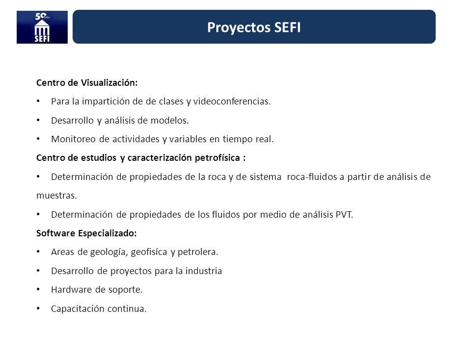 Centro de Visualización: Para la impartición de de clases y videoconferencias. Desarrollo y análisis de modelos. Monitoreo de actividades y variables