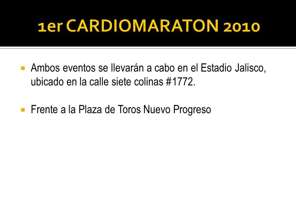Ambos eventos se llevarán a cabo en el Estadio Jalisco, ubicado en la calle siete colinas #1772. Frente a la Plaza de Toros Nuevo Progreso