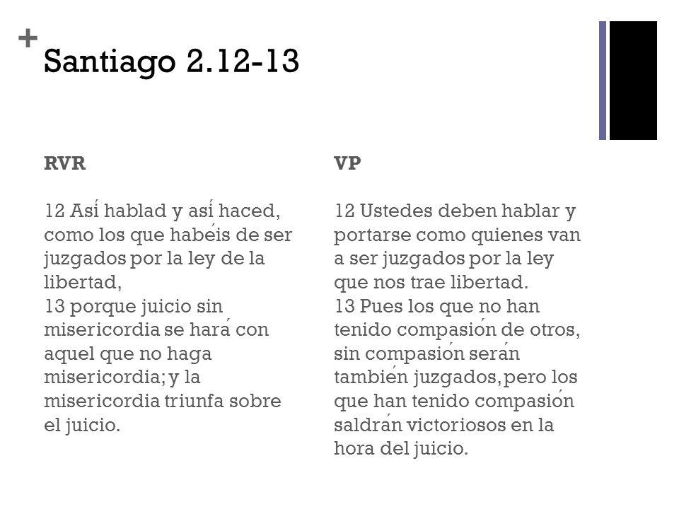+ Resumen - 1 Santiago esta invitando a sus lectores a poner en practica de modo concreto lo que Jesus y las Escrituras les han ensen ̃ ado.