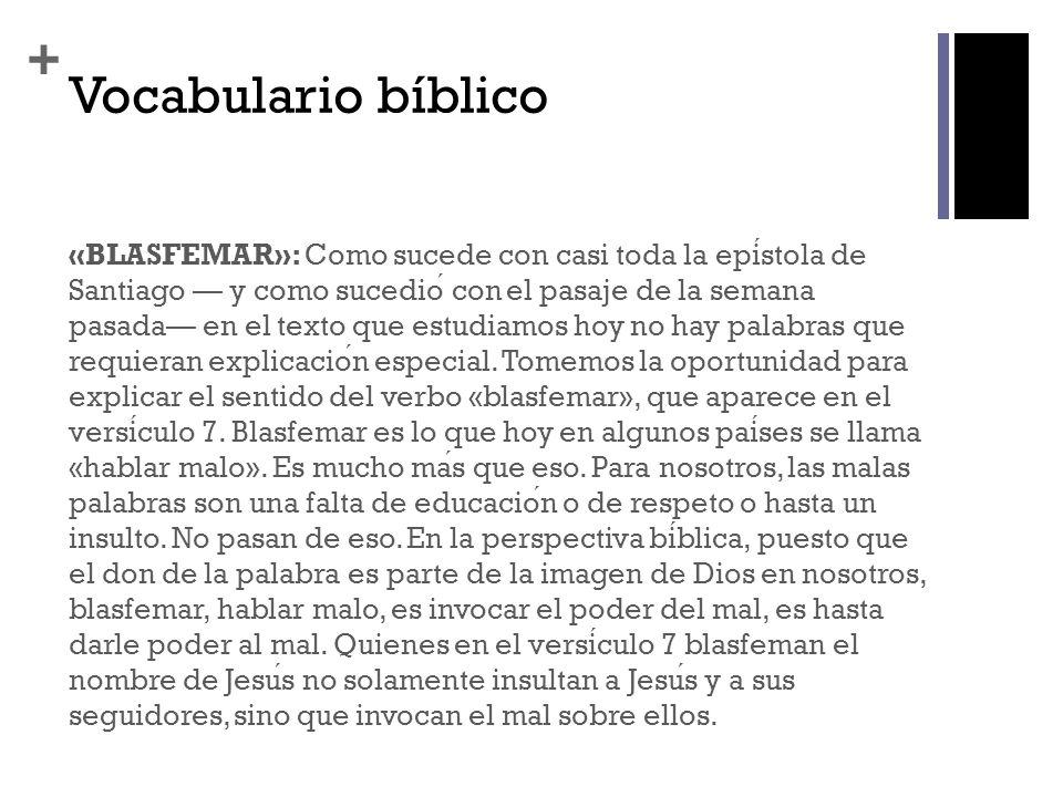 + Santiago 2.1 RVR 1 Hermanos mios, que vuestra fe en nuestro glorioso Sen ̃ or Jesucristo sea sin acepcion de personas.