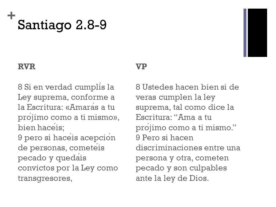 + Santiago 2.10-11 RVR 10 porque cualquiera que guarde toda la Ley, pero ofenda en un punto, se hace culpable de todos, 11 pues el que dijo: «No cometeras adulterio», tambien ha dicho: «No mataras».