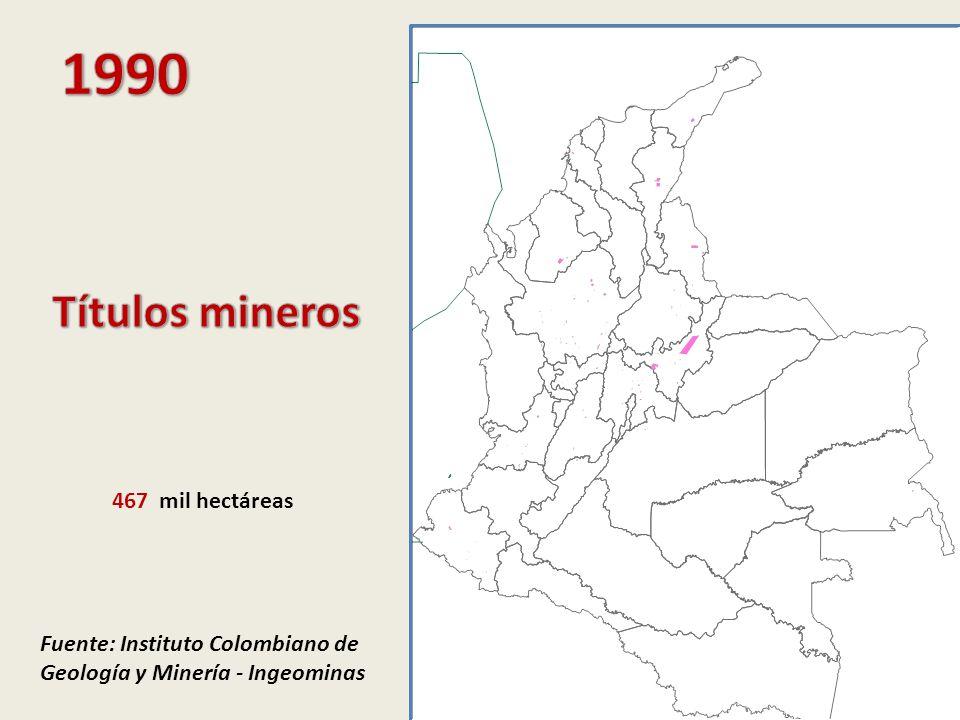 Municipios del departamento vs.Resto municipios del país Carbón Municipios mineros vs.