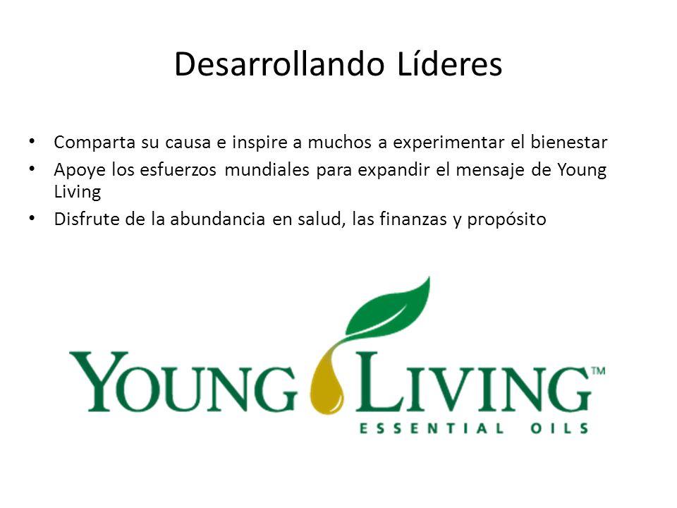 Desarrollando Líderes Comparta su causa e inspire a muchos a experimentar el bienestar Apoye los esfuerzos mundiales para expandir el mensaje de Young