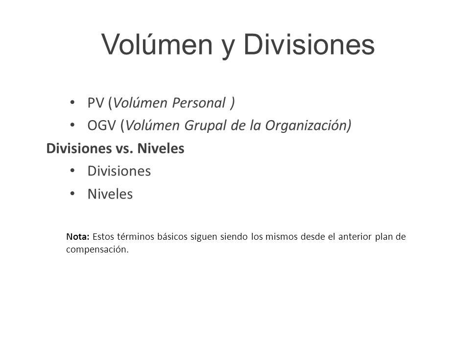 Comisiones Uni-nivel Las comisiones estándar, de los distribuidores por las que se gana 8% del volumen de su primer nivel, 5% en un segundo nivel y 4% en tres niveles adicionales (basado en el rango).