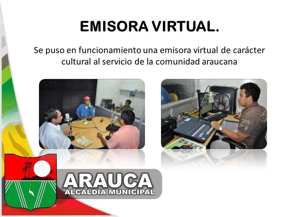 EMISORA VIRTUAL. Se puso en funcionamiento una emisora virtual de carácter cultural al servicio de la comunidad araucana