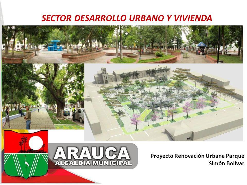 Proyecto Renovación Urbana Parque Simón Bolívar