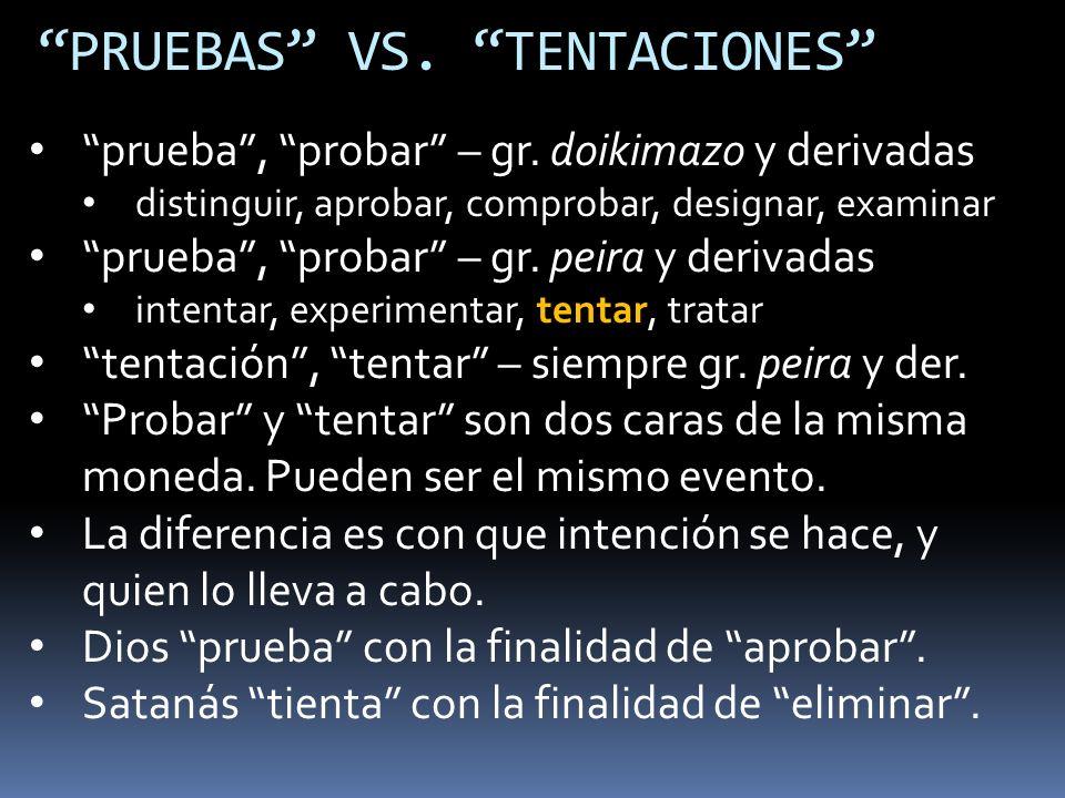 PRUEBAS, PROBAR EN EL N.T.