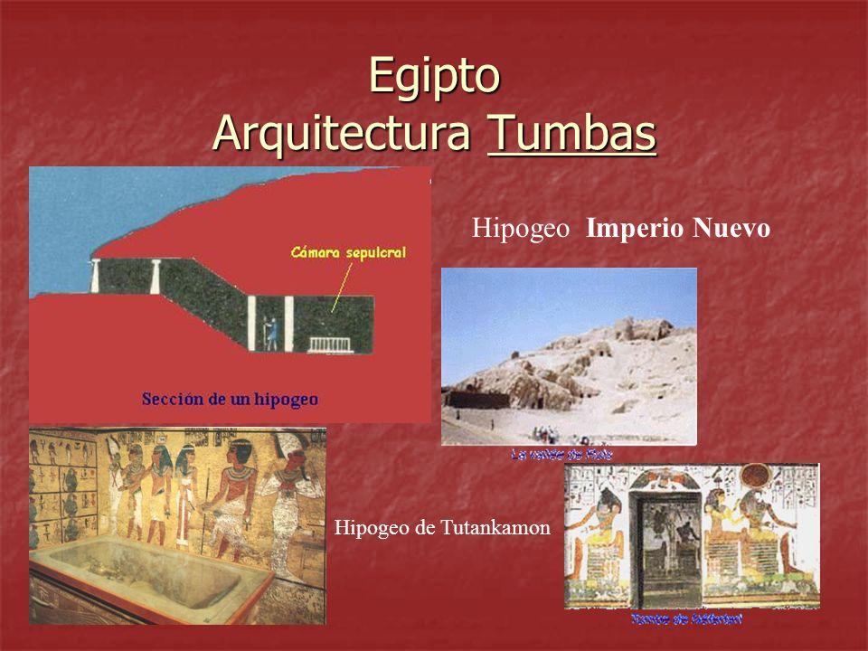 Egipto Arquitectura Tumbas Hipogeo Imperio Nuevo Hipogeo de Tutankamon
