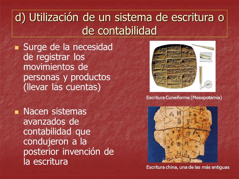 ESCRITURA CUNEIFORME Tal vez el invento más notable de los sumerios haya sido la escritura.