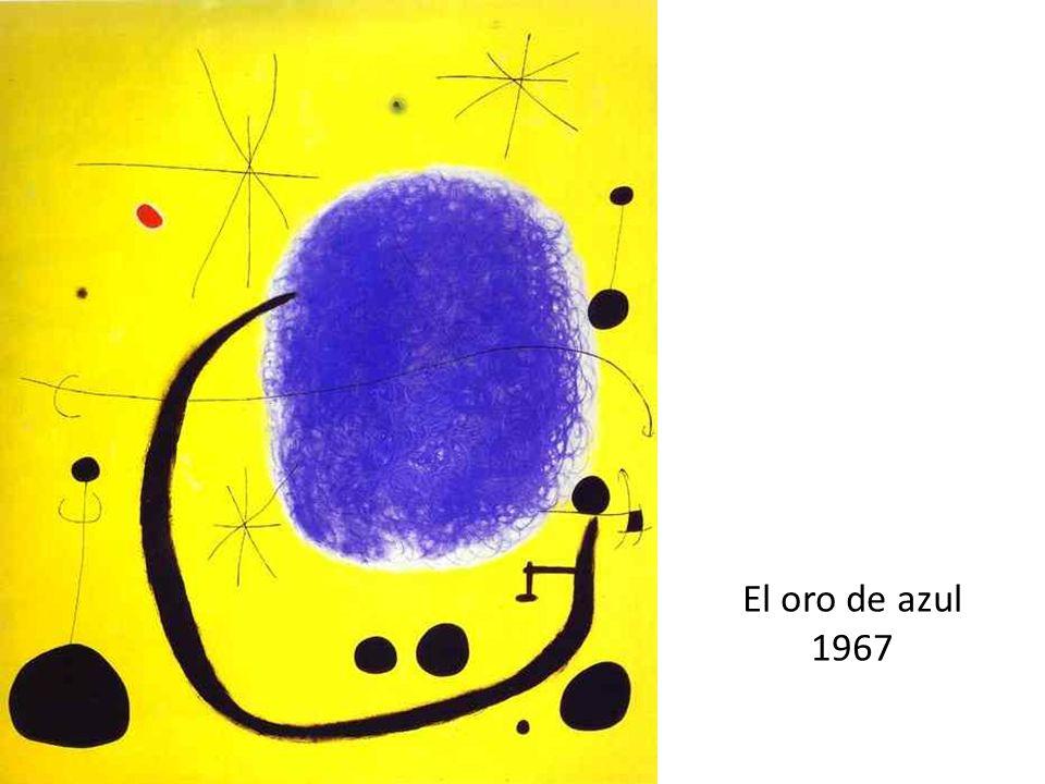 El oro de azul 1967