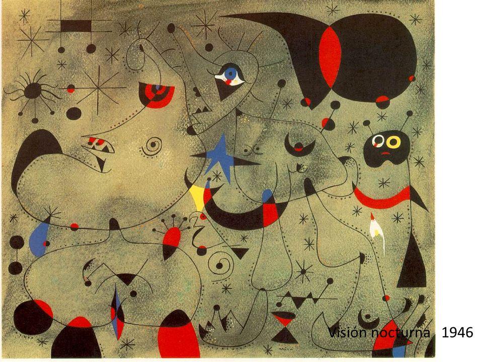 Mujer, pájaro, estrella 1942 Las Constelaciones son una escapada al sublime.