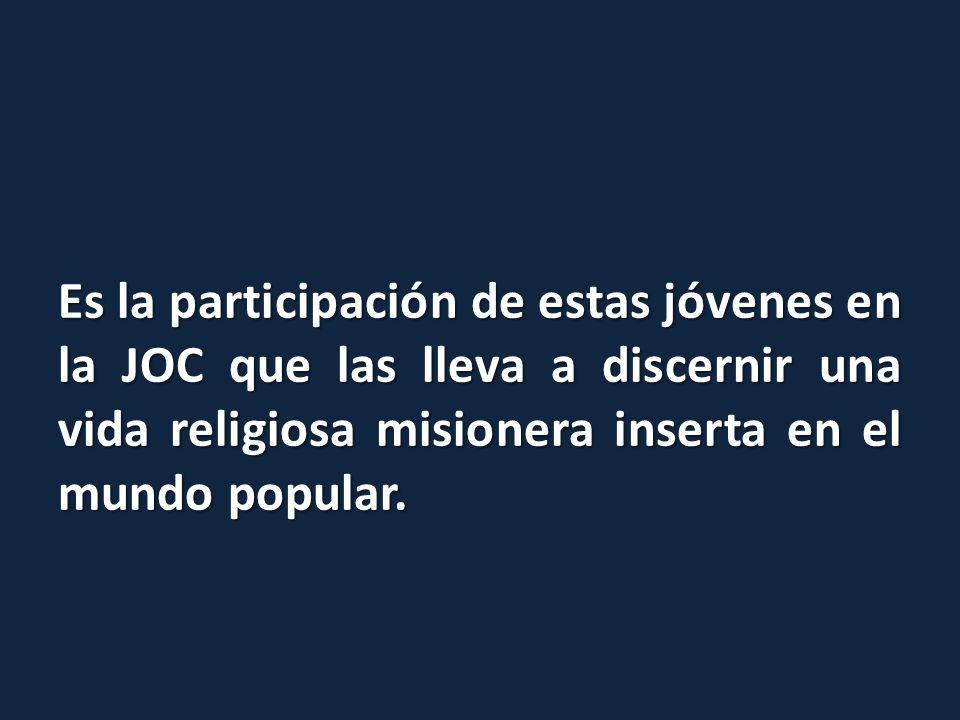 En aquella época no existía ninguna congregación en Chile que respondiera a sus inquietudes.