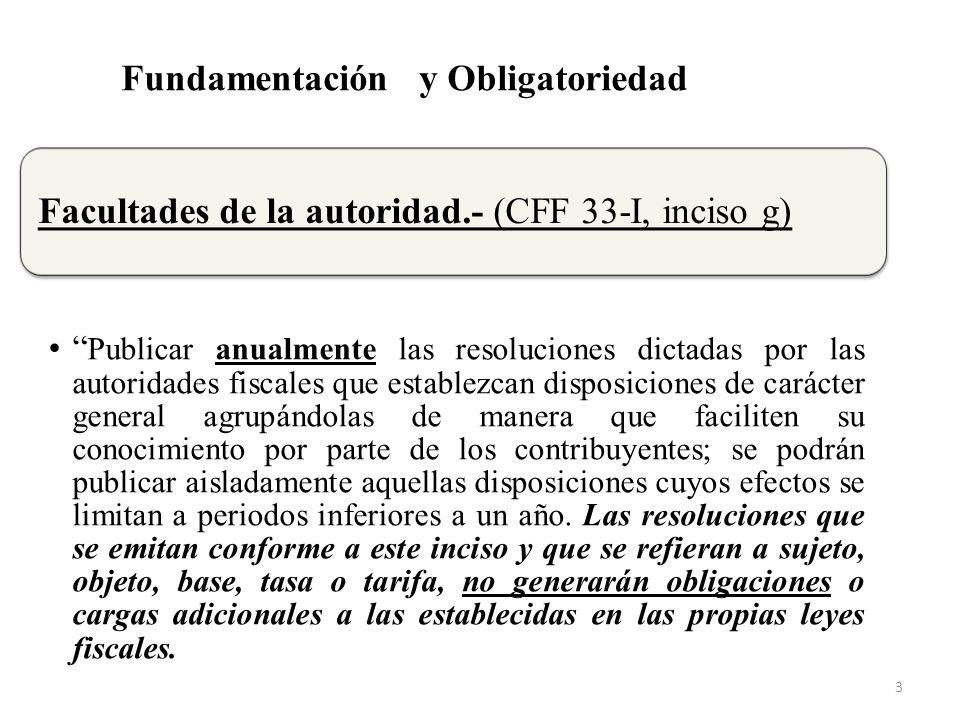 Regla II.2.2.1.