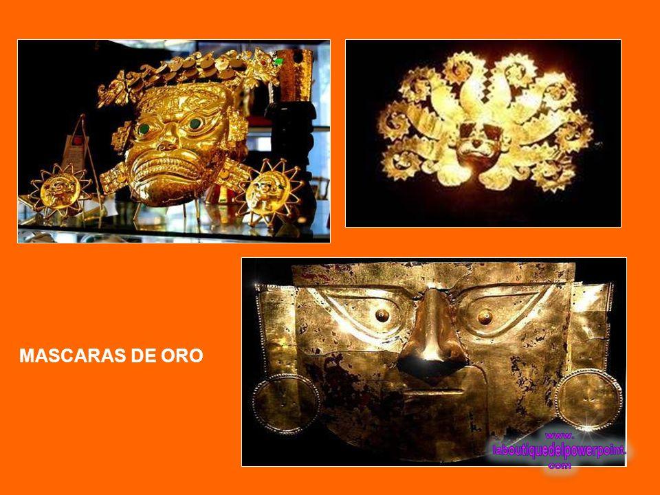 Collar de oro Elaborado con 703 pequeñas cuentas esféricas de oro engarzadas en ocho hileras paralelas de menor a mayor y dos topes. Filiación cultura