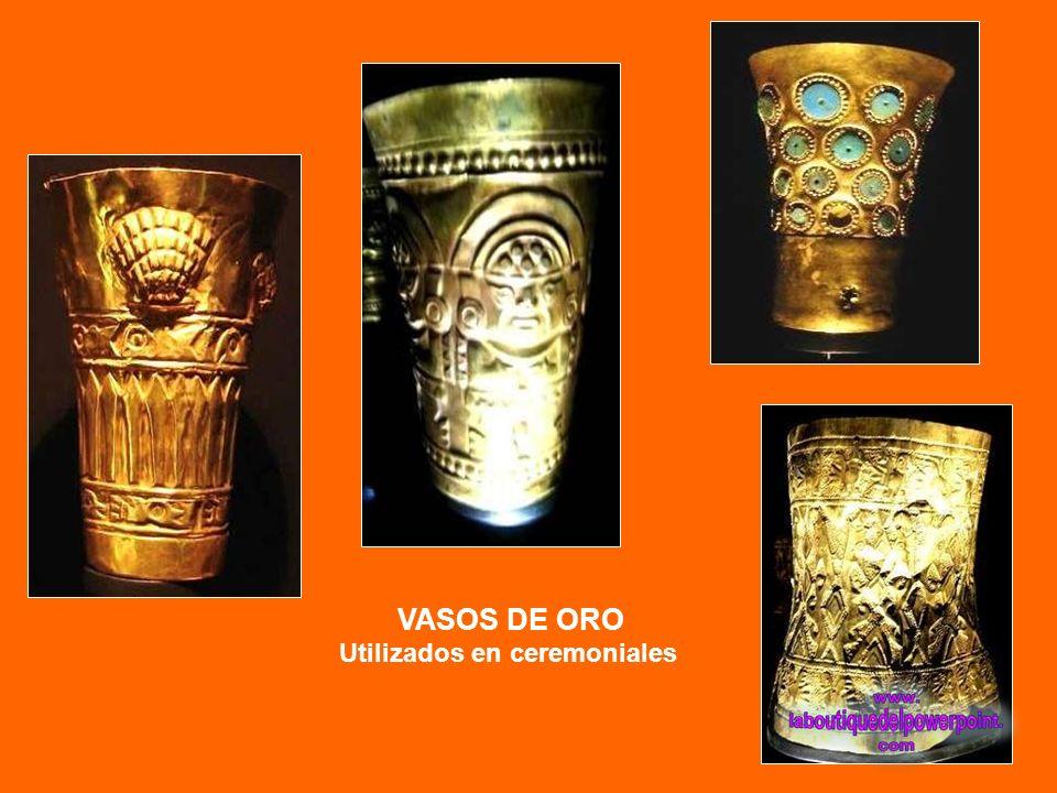 De oro, turquesas y crisocolas - Cultura: Moche