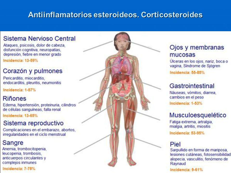 13 Antiinflamatorios esteroideos. Corticosteroides