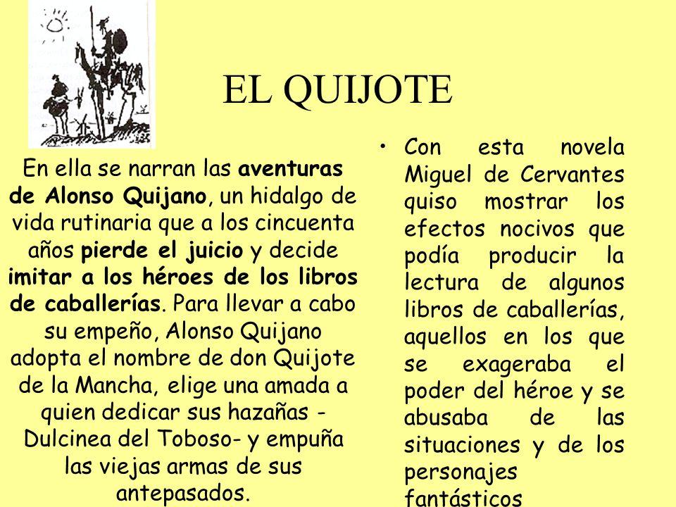 NOVELAS EJEMPLARES Son pequeños relatos, publicados en 1612 Describen la sociedad de su época.
