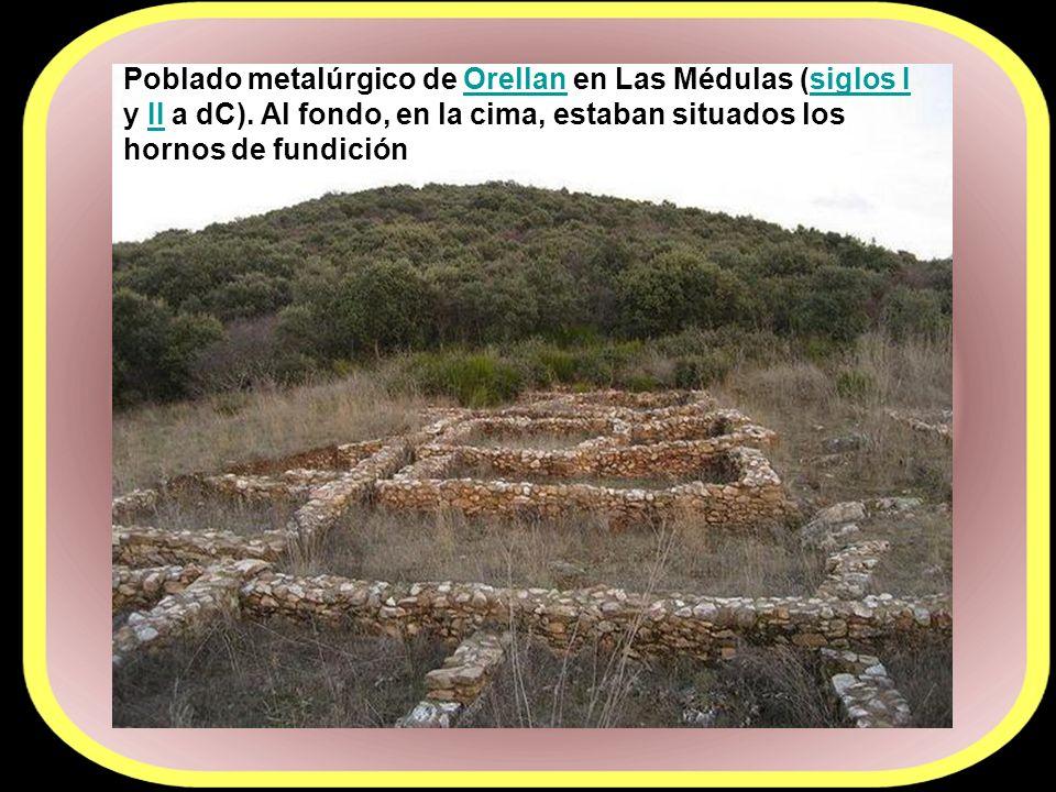 las Médulas fueron la explotación aurífera más grande del imperio romano.