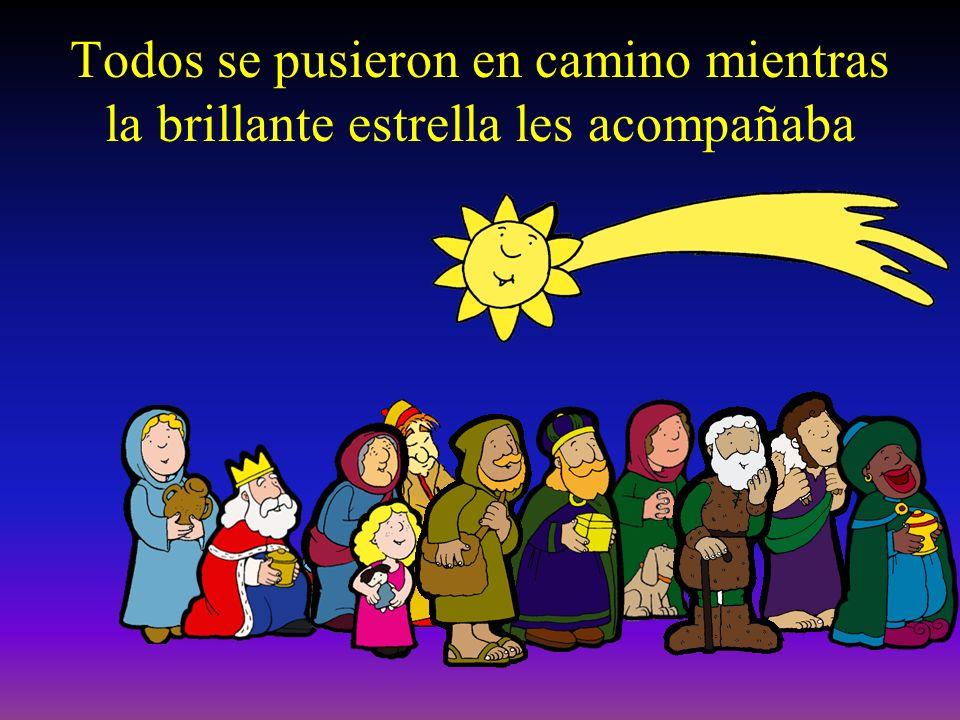 No temáis, les dijo el Ángel, porque en Belén ha nacido el Salvador del mundo. Lo encontrareis en un pesebre, envuelto entre pañales. A Achín le dijo: