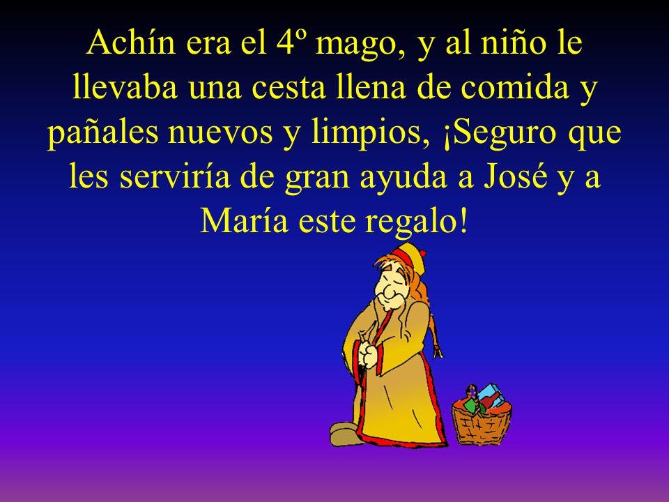 Melchor, Gaspar y Baltasar, le llevaban al niño oro, incienso y mirra, pero… ¿quién era el 4º mago?, ¿qué le llevaba al niño?