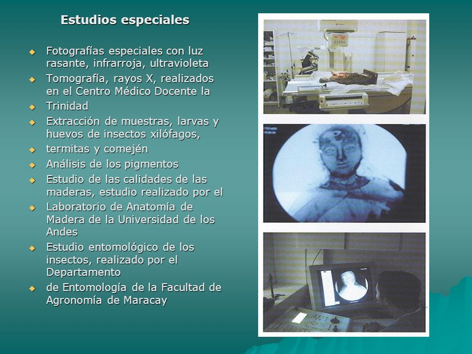 Estudios especiales Estudios especiales Fotografías especiales con luz rasante, infrarroja, ultravioleta Fotografías especiales con luz rasante, infra