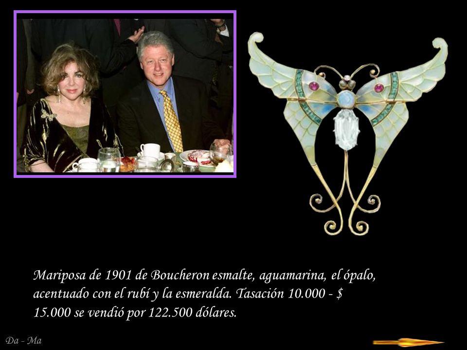 Da - Ma Portanova - pendientes de diamantes de 18 quilates con decoración de oro comprado a baronostwa Portanova.