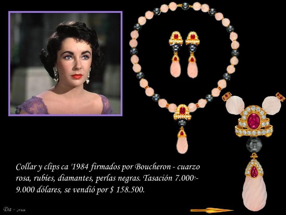 Da - Ma Platynowo – diamentowy pierścionek z inicjałem aktorki.