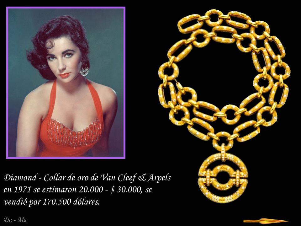 Da - Ma Pendientes - colgantes con ca 1991 la empresa Van Cleef & Arpels con coral blanco, perlas y diamantes.