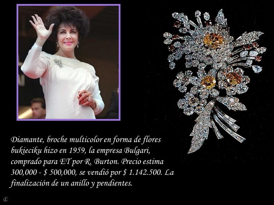 Da - Ma Diamond - Collar de oro de Van Cleef & Arpels en 1971 se estimaron 20.000 - $ 30.000, se vendió por 170.500 dólares.