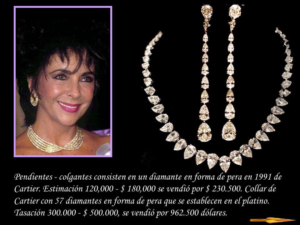 Da - Ma Conjunto collar y pendientes - pendientes, zafiros y diamantes de 18 quilates de oro blanco y amarillo.