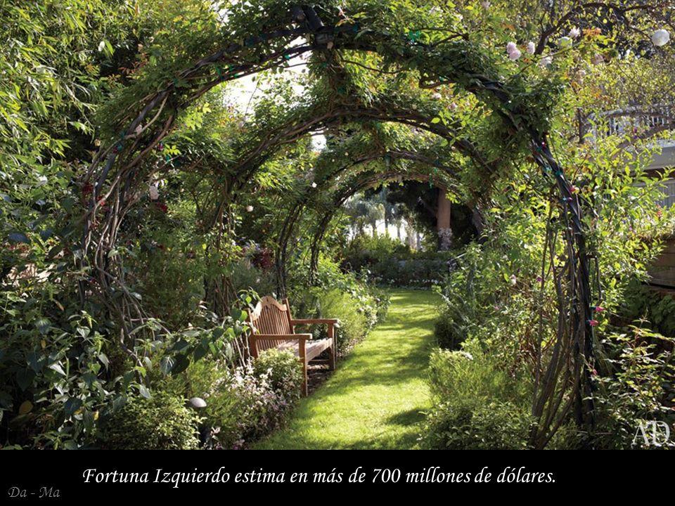 Da - Ma Fortuna Izquierdo estima en más de 700 millones de dólares.