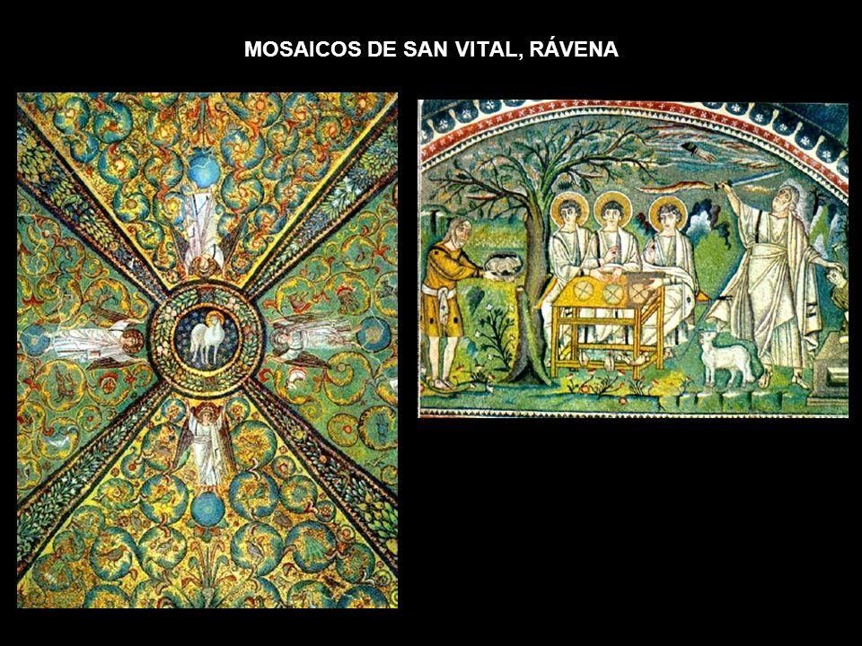 MOSAICOS DE SAN VITAL, RÁVENA
